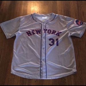 New York Mets Mike Piazza #31 Jersey